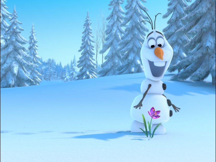 The latest animated Disney movie, Frozen, is visually appealing and interesting. It may not be on the level of the Lion King, but it is certainly still worth watching.