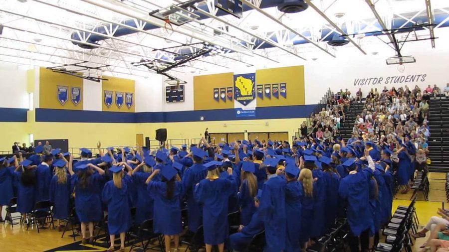 Graduation of the New Berlin West Class of 2013.