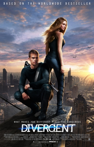 Divergent offers a look into a society that is very different than our own. It is the first movie in the series.