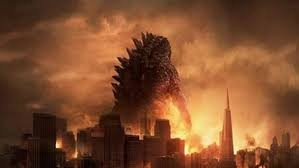 Godzilla stomping across San Franciso. It is a must see movie for action film fans.
