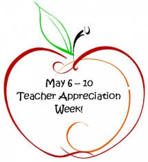 Students apperciated their teachers this week. The students did something for the teachers each day of the week.
