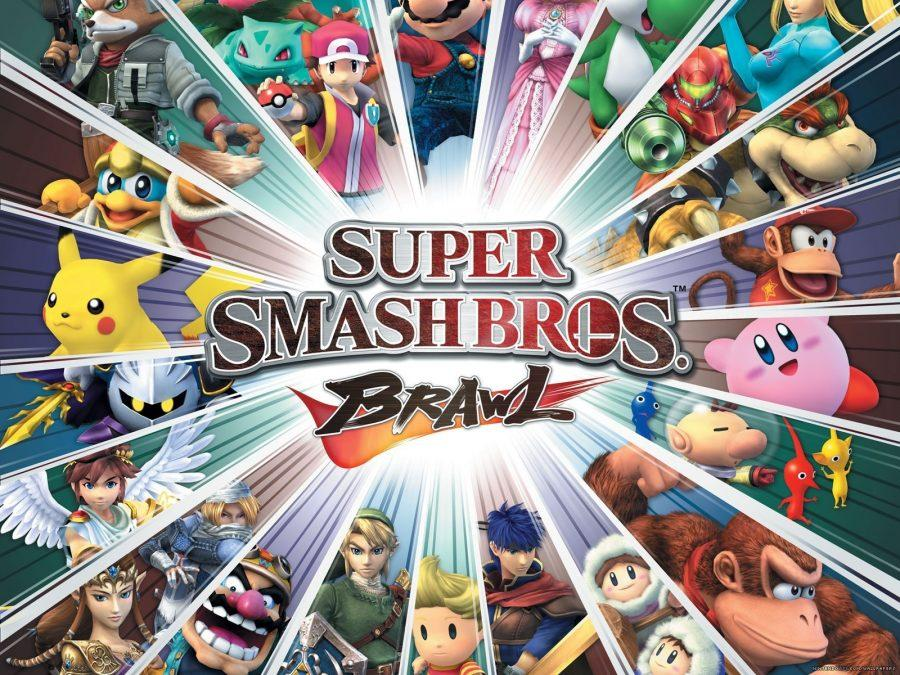 Students from all grades enjoyed playing Super Smash Bros Brawl with their friends.
