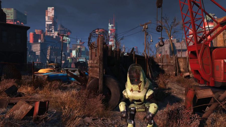 Fallout 4  impresses fans with colorful landscapes and interesting characters.