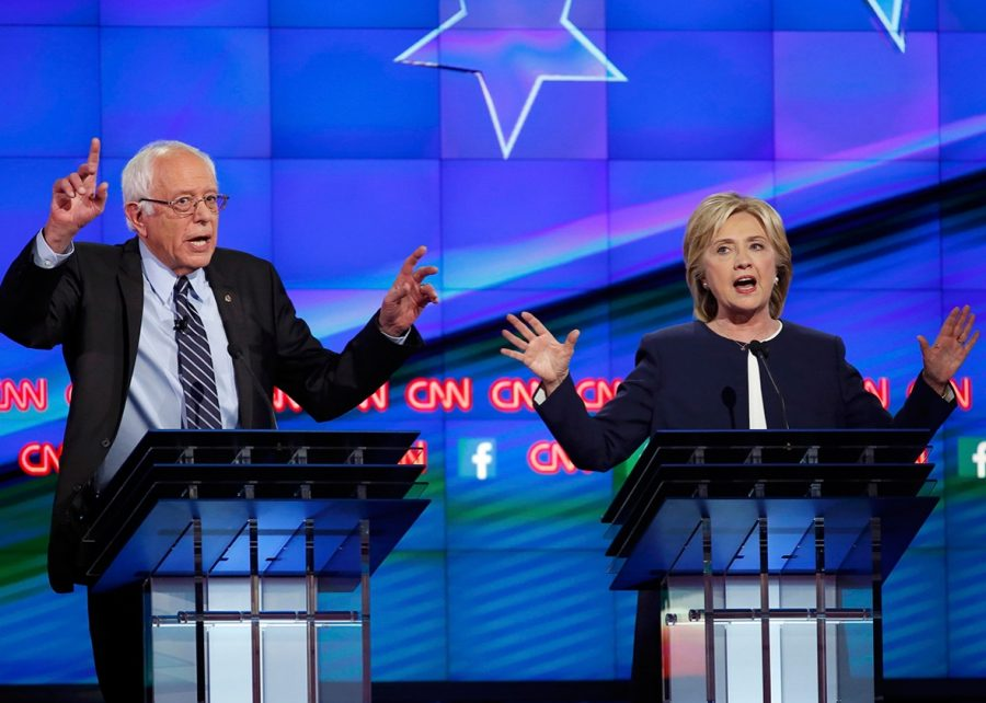 Sanders and Clintion discuss key aspects of their respective campaigns.