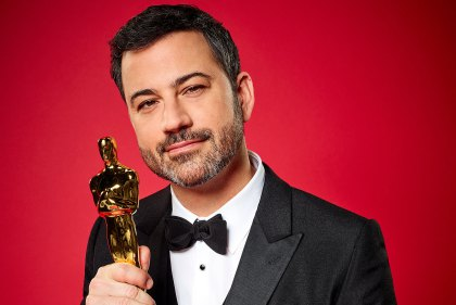 THE OSCARSAE - Late-night talk show host, producer and comedian Jimmy Kimmel will host the 89th OscarsAE to be broadcast live on OscarAE SUNDAY, FEBRUARY 26, 2017, on the ABC Television Network. (ABC/Jeff Lipsky) JIMMY KIMMEL © 2017 American Broadcasting Companies, Inc. All rights reserved.     145621_0137 American Broadcasting Companies, ABC