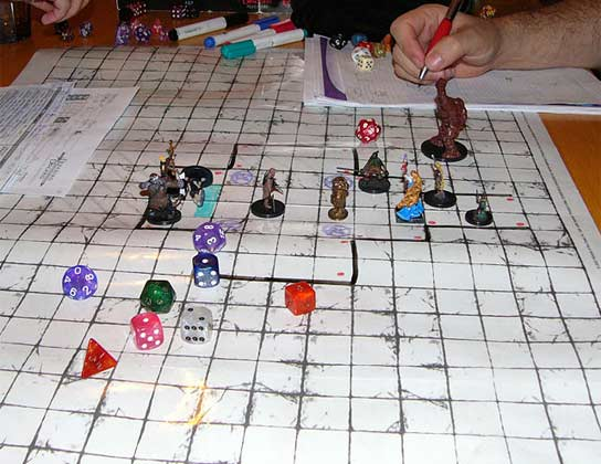 Dungeons and Dragons club seeks adventurers