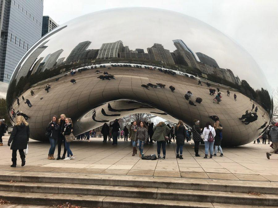 AP Art, Photography Students Visit Chicago