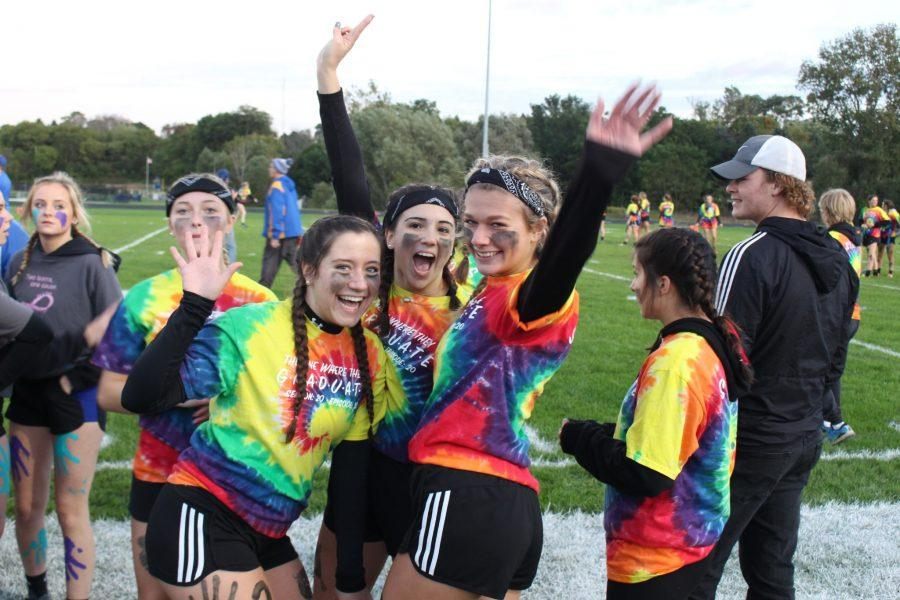 Homecoming Spirit Week--Powder Puff Photos