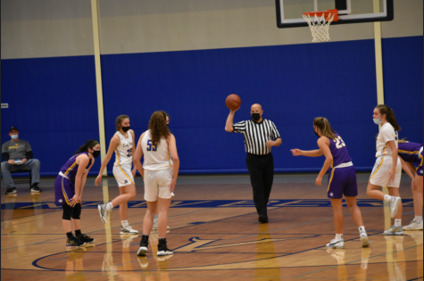 West Girls Basketball Loses Opener to Rival Ike
